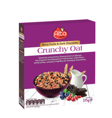Alta gusto crunchy berry fruits δημητριακά
